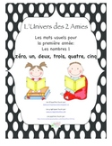 Grade I French Immersion Sight Word Number Pack 1