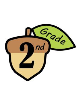 Grades Clip Art Acorns