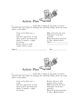 Grade Improvement Action Plan