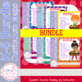 Grade K-5 Curriculum Map BUNDLE