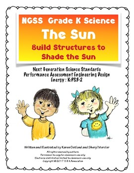NGSS Grade K Science Energy: The Sun, Build Structures to Shade the Sun