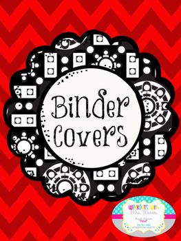 Grade Level Binder Covers