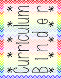 Grade Level Cover Pages Chevron