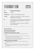 Wellbeing Lesson Plan Bundle: Foundation/Kindergarten/Prep - Grade 7