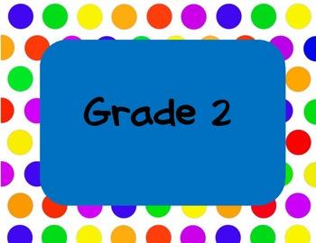Grade Level Signs