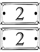 Grade Level Signs/Labels