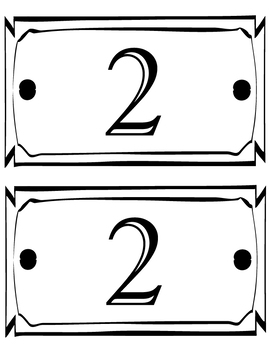 Grade Level Signs/Labels (PreK - 5th)