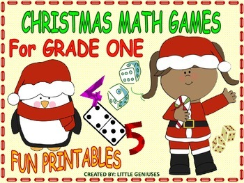 Grade One Christmas Math Games