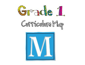 Grade One Curriculum Map