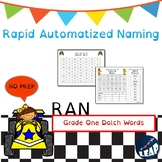 Grade One Dolch Sight Word Fluency - Rapid Naming Boards