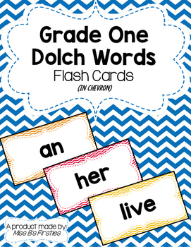 Grade One Dolch Words