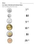 Grade One Final Canadian Money Test