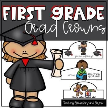 First Grade Graduation Crowns