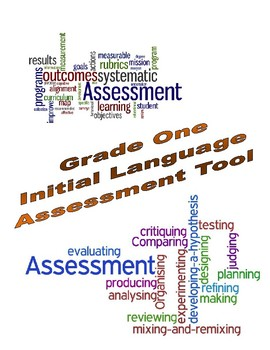 Grade One Initial Language Assessment Tool