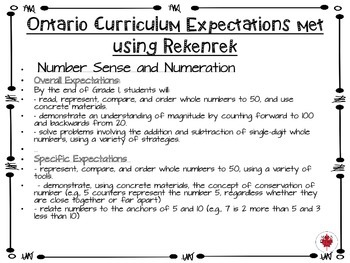 Grade One Math with Rekenreks