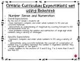 Grade One Math with Rekenreks
