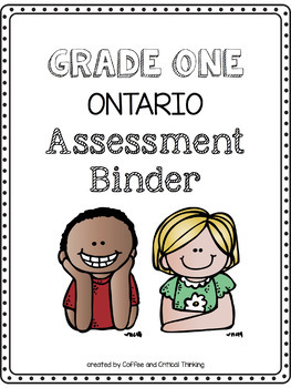 Grade One Ontario Assessment Binder