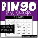 Google Classroom™ Digital Grade One Sight Word Bingo Activity