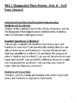 Grade One Social Studies - Unit 3