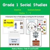 Grade One Social Studies - Units 1-4 (Saskatchewan)