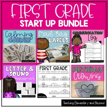 Grade One September Start Up Bundle