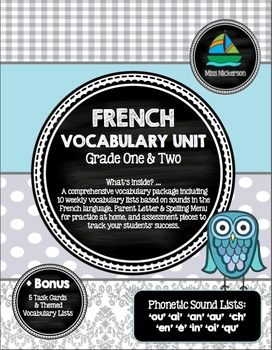 Miraculous Mots Phonetiques Vocabulary Lists French Immersion Printable Download Free Architecture Designs Grimeyleaguecom