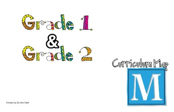 Grade One and Two Curriculum Map for Math
