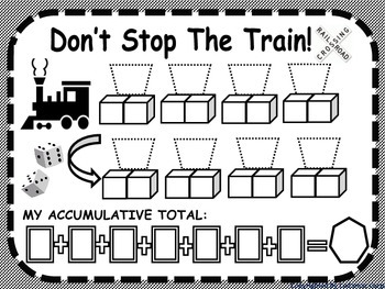 Train Themed Math Games Are Fun For Grades 1 and 2