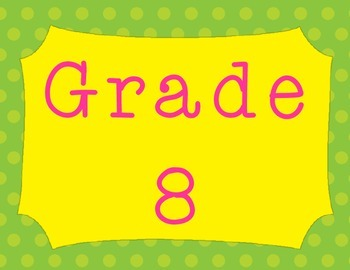 Grade Posters