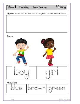 Grade R Activity Book Term 1