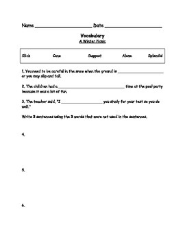 Grade 3 Ready Gen Decodable Reader Units 1-3 Vocabulary and Quizzes (4 stories)