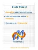 Grade Record