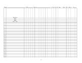 Grade Record sheet