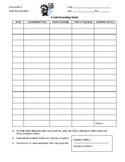 Grade Recording Worksheet