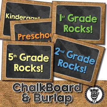 Grade Rocks Classroom Posters