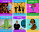 Grade School Professions Posters, African Centered Set of 25