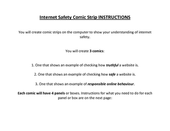Grade Seven Health Internet/Online Safety Lesson Plan