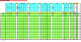 Grade Sheet: A = 92% - 100% Scale