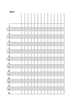 Grade Sheet that Averages Grade For You