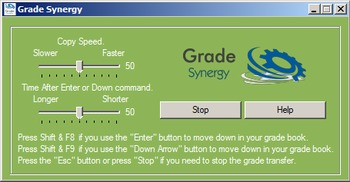 Grade Synergy Ad Supported Easy Grade Transfer to your Gradebook!