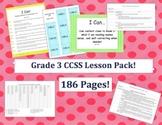 Grade Three Common Core Lesson Pack - Designer Dots