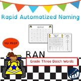 Grade Three Dolch Sight Word Fluency - Rapid Naming Boards