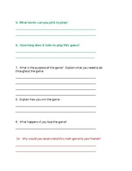 Grade Three Informational Writing