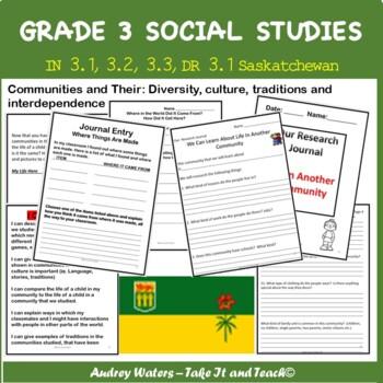 Grade Three Social Studies Unit Plan