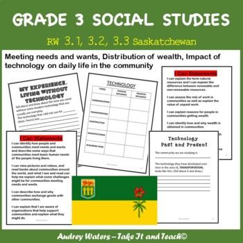Grade Three Social Studies Unit Plan - Unit 4