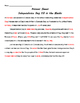 Grade Two Celebrations Unit Worksheets and Activities