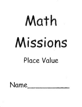 Grade Two Math Problem Solving Mission for Place Value
