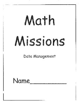 Grade Two Math Problem Solving Missions for Data Management