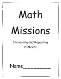 Grade Two Math Problem Solving Missions for Patterns