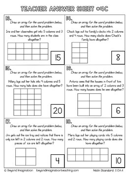 Grade Two Math Projects Common Core Math | No Prep Worksheets | 2.OA.1-2.OA.4